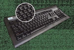 Gold bharat Mechanical Bilingual Keyboard